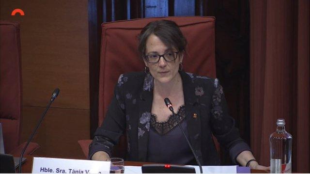 La consellera d'Igualtat i Feminismes de la Generalitat, Tània Verge