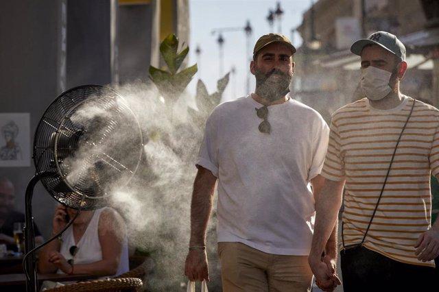 Aviso amarillo por calor en varias zonas de la Comunidad de Madrid