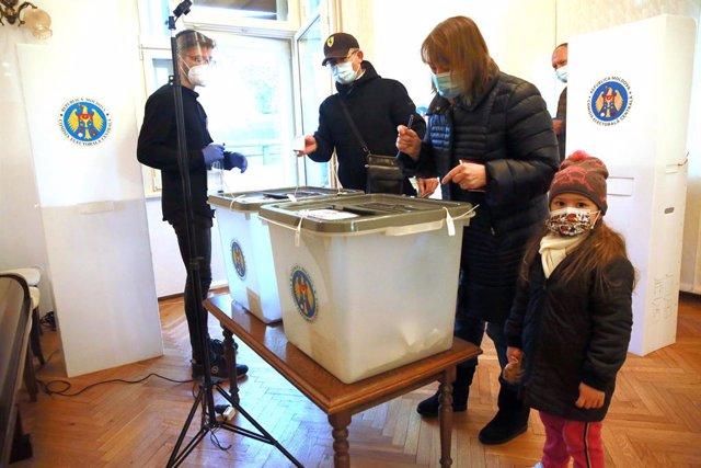 Archivo - Elecciones en Moldavia
