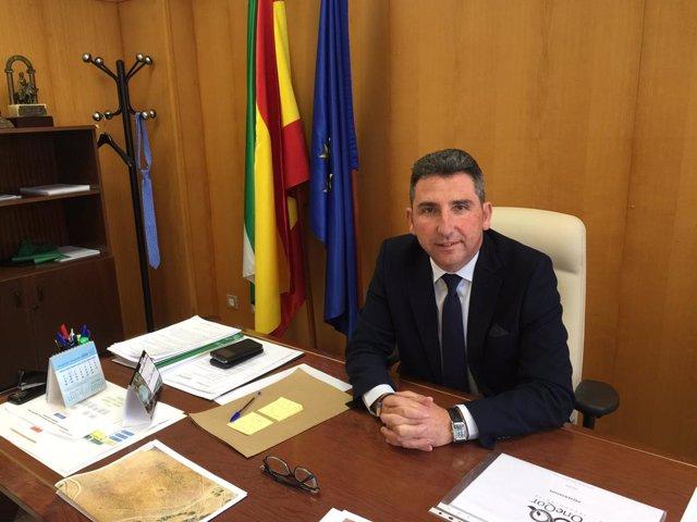 El delegado territorial de Agricultura, Ganadería y Pesca, Álvaro Burgos.
