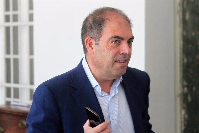 Archivo - El presidente de la Federación de Autónomos, Lorenzo Amor