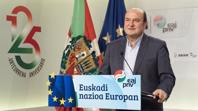 Archivo - El presidente del EBB del PNV, Andoni Ortuzar