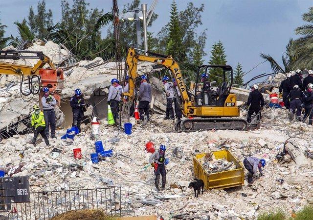 Edificio Champlain Towers South, colapsado  en Florida