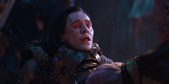 Tom Hiddleston como Loki en Infinity War