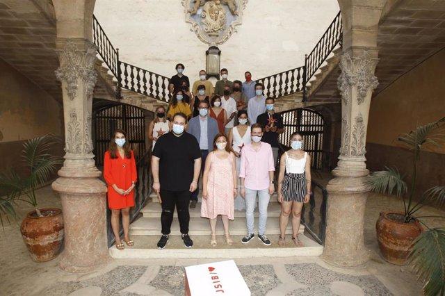 Entrega de los XIII Premios Isabel Coll, organizados por JSIB.