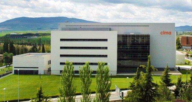 Edificio del Cima de la Universidad de Navarra