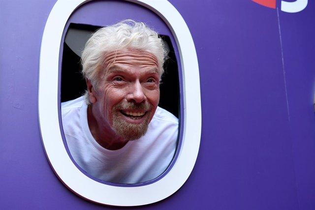 Archivo - 12 November 2019, Australia, Sydney: Virgin Group founder Richard Branson attends the launch of a partnership between Virgin Australia and Branson cruise line Virgin Voyages. Photo: Bianca De Marchi/AAP/dpa