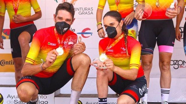 David Valero y Rocío García revalidan sus títulos de campeones de España de XCO