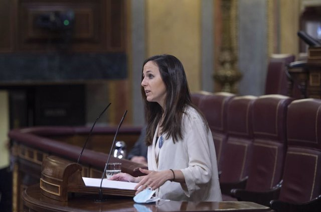 Archivo - Arxivo - La Ministra de Drets Socials i Agenda 2030, Ione Belarra. Foto d'arxiu.