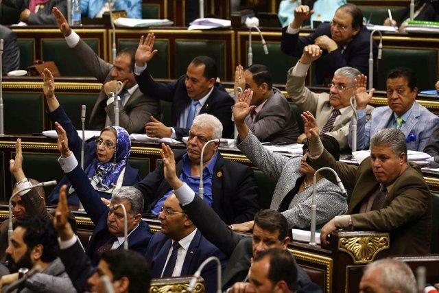 Archivo - Parlamento de Egipto