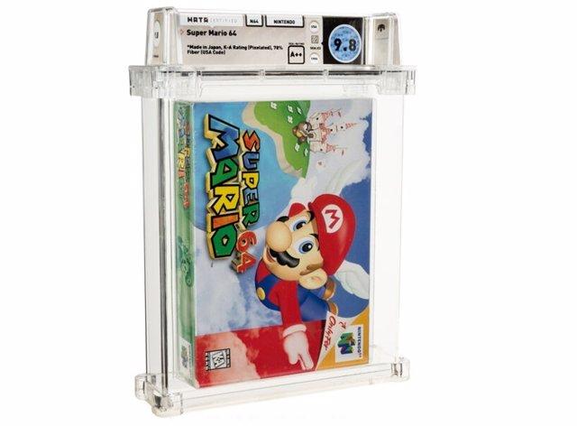 Archivo - Copia sellada de Super Mario 64