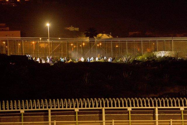 Archivo - Arxiu - Frontera que separa Melilla i el Marroc