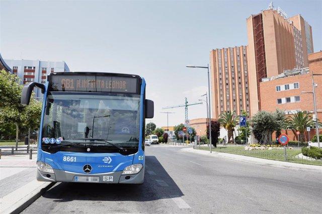Archivo - 'EMT Smart Bus Madrid'