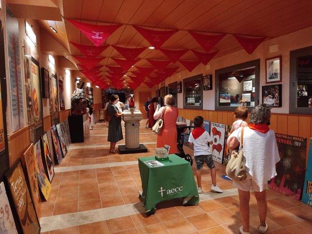 El Museo de la Vaquilla de Teruel ha registrado la visita de 1.130 personas desde su apertura el 2 de julio