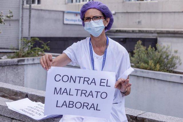 """Archivo - Satse pide a Escudero soluciones """"inmediatas"""" para la sanidad y acabar con las condiciones laborales """"pésimas"""""""