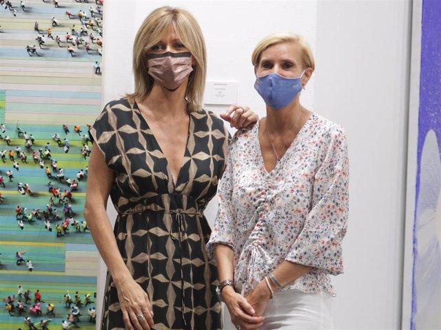 Susanna Griso y María Zurita en ARCOMadrid