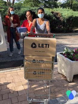 Donación de LETI Pharma ACompartir