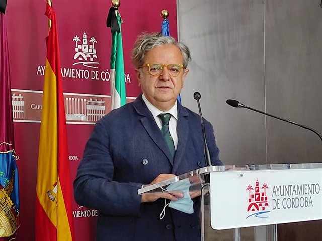 El presidente de la GMU, Salvador Fuentes.