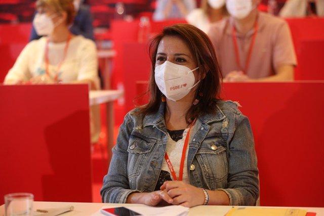La sots-secretària general del PSOE i portaveu del Grup Socialista al Congrés, Adriana Lastra