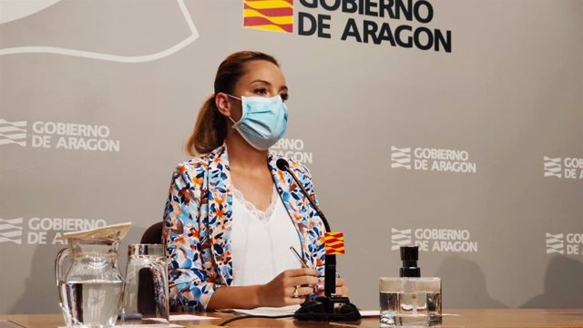 La consejera de Ciencia, Universidad y Ciencia del Conocimiento, Maru Díaz