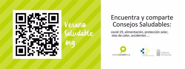 Campaña 'Verano Saludable' del Gobierno de Canarias
