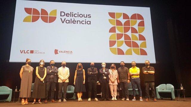 Presentación de la nueva marca Destino Gastronómico de Visit València y Turisme València, Delicious València.