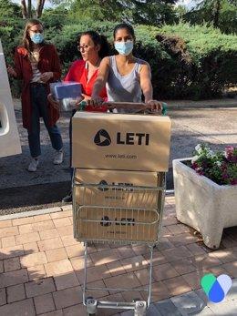COMUNICADO: LETI Pharma dona más de 150.000 euros en productos a la ONG ACompartir