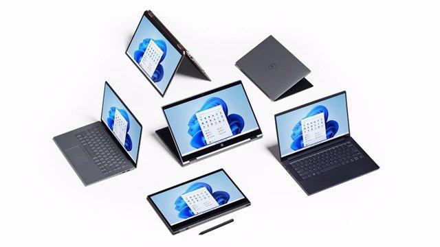 Ordenadores portátiles con Windows 11
