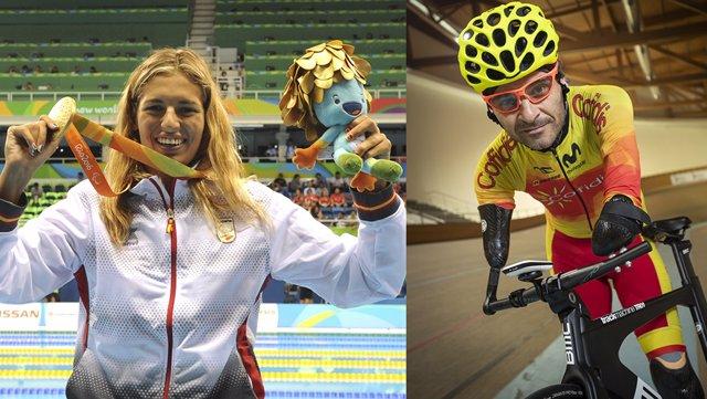 Michelle Alonso y Ricardo Ten serán los abanderados de España en los Juegos Paralímpicos de Tokyo 2020.