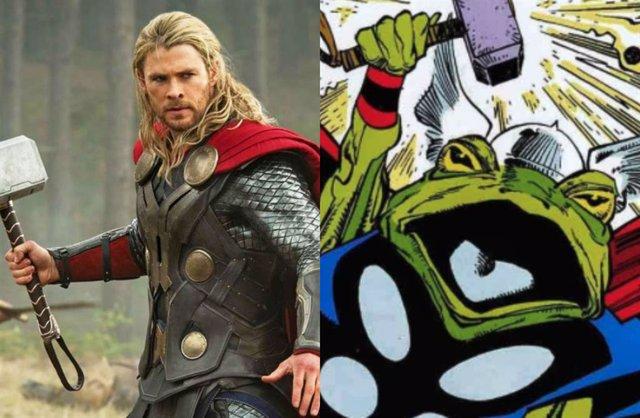 Chris Hemsworth interpretó a Thor rana en Loki 1x05