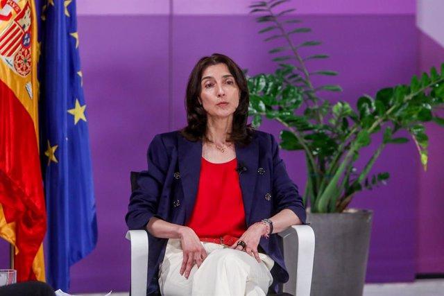 Archivo - La nueva ministra de Justicia, Pilar Llop, a 28 de mayo de 2021, en Madrid (España).
