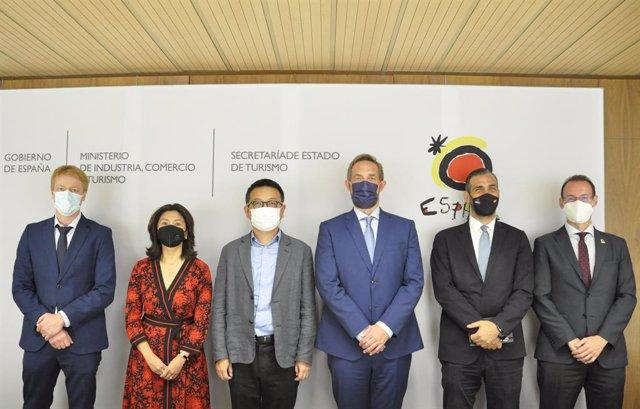 El grupo chino Trip.Com apuesta por España como destino turístico