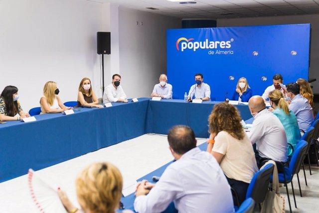 Javier Aureliano García preside la comisión permanente del PP de Almería