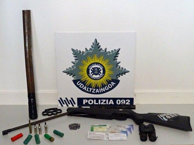Detenido en Vitoria un joven de 20 años por disparar perdigones a dos menores en Salburua
