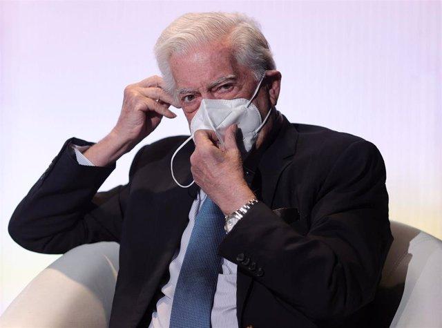 El presidente de la Fundación Internacional para la Libertad, Mario Vargas Llosa