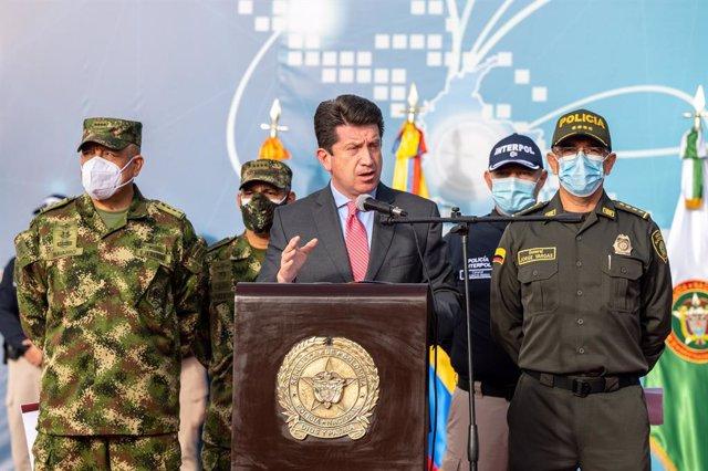 El ministro de Defensa colombiano, Diego Molano