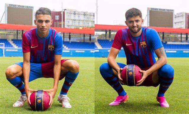 Jordi Escobar y Kays Ruiz, nuevos jugadores del Barça B