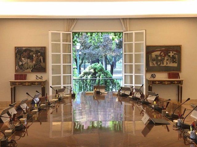 Sala del Consejo de Ministros