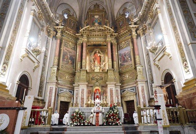 Archivo - El cardenal Cañizares clausura el Año Jubilar de la Basílica del Sagrado Corazón