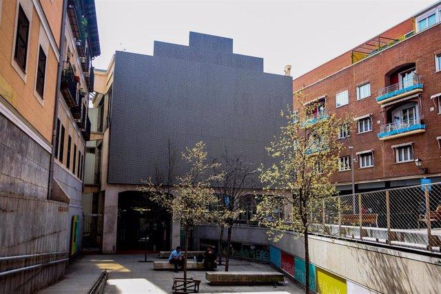 Archivo - Edificio que hasta ahora albergaba el proyecto Medialab Prado, que se convertirá en el Espacio Cultural Serrería Belga