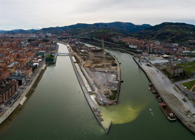 Zorrozaurre, en Bilbao