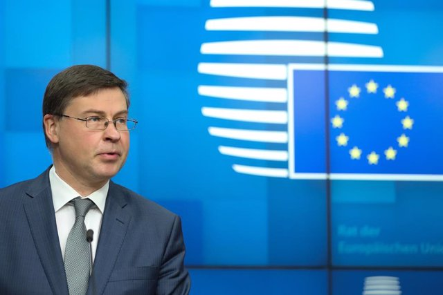 Archivo - Arxiu - El vicepresident econòmic de la Comissió Europea, Valdis Dombrovskis