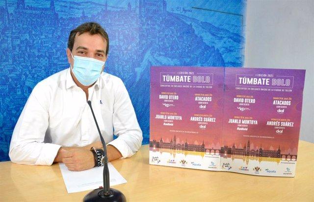El concejal de Juventud de Toledo, Pablo García