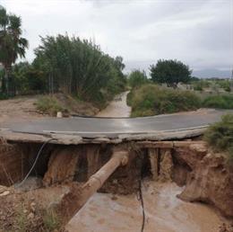 El Ayuntamiento aprueba en Junta de Gobierno el proyecto para reparar el Camino Molineta dañado por las lluvias con una inversión de 481.612 euros