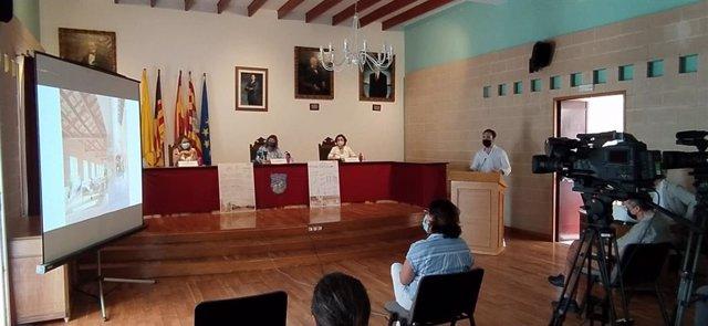 Presentación del proyecto de nueva residencia en Es Castell.