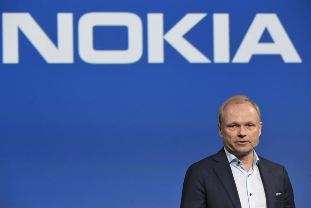 Archivo - FILED - 02 March 2020, Finland, Espoo: Nokia's new President and CEO Pekka Lundmark attends Nokia's press conference at the Nokia headquarters in Espoo. Finland's Nokia Oyj plans to cut 1,233 jobs at its French subsidiary Alcatel-Lucent Internat