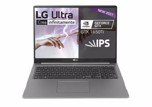 Portátil LG Ultra 17U70P.