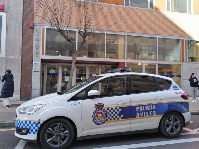 Archivo - Juzgados de Avilés. Policía Local de Avilés.