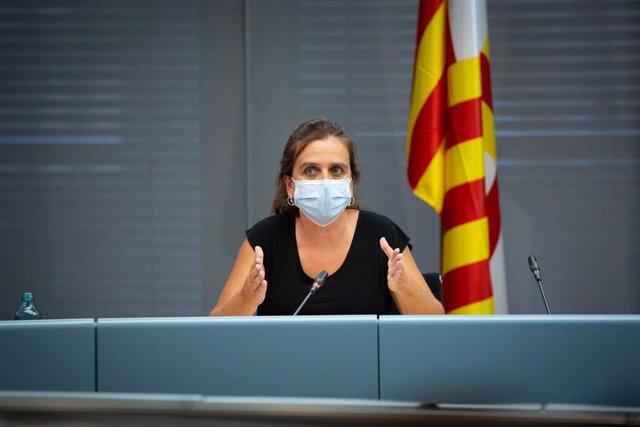 Archivo - La concejal de Salud del Ayuntamiento de Barcelona, Gemma Tarafa, en una imagen de archivo.