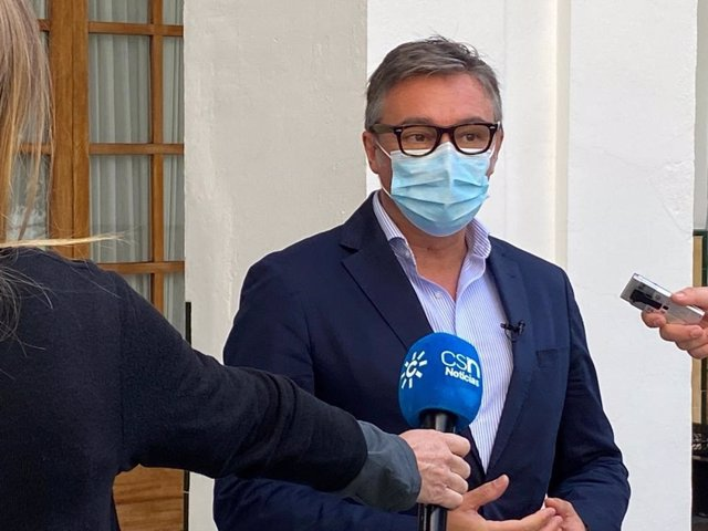 Archivo - El diputado andaluz de Vox Manuel Gavira